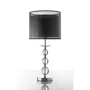 LAMPE A POSER Lampe IGOR noire et chromée - L 30 x H 67.5