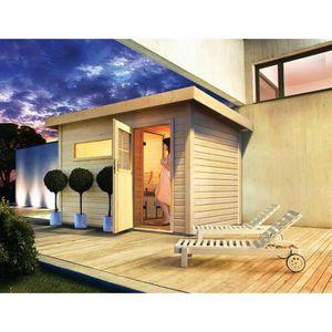 sauna extérieur - achat / vente sauna extérieur pas cher - cdiscount - Cabine Sauna Exterieur