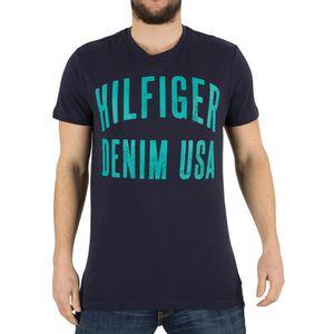 3ee030a67f07 T-shirt Hilfiger denim homme - Achat   Vente T-shirt Hilfiger denim ...