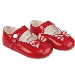Paire de Beau Chaussures de bébé fille en Rouge T: 0-6 Mois !!! - BSS-116-456 rEbki0Fu8E