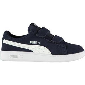 0b05547577 BASKET Puma Enfants Chaussures De Sport En Daim 2 Bandes ...