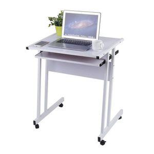 Bureau Informatique Table Ordinateur Table De Travail Meuble Pc