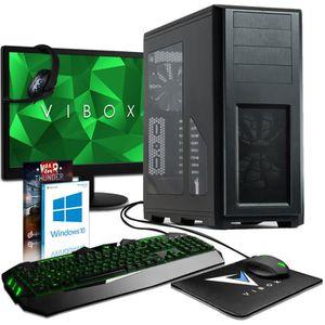UNITÉ CENTRALE  VIBOX Mensa Pack 70 PC Gamer - AMD 8-Core, GTX 108