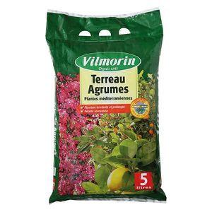 TERREAU - SABLE Terreau agrumes Vilmorin sac de 5 litres