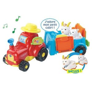 VOITURE - CAMION VTECH Mon Super Tracteur A Remorque