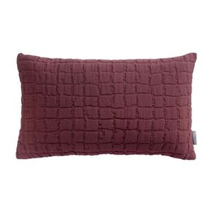 COUVERTURE - PLAID Coussin Stonewashed Swami prune 30 x 50 cm Winkler