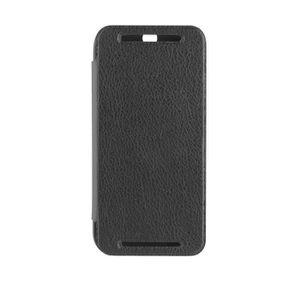 COQUE - BUMPER Etui Folio Xqisit Rana for HTC Desire 820 noir