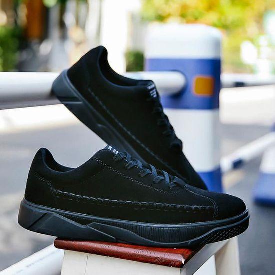 Baskets Advantage Clean Chaussures Homme Noir Noir - Achat / Vente basket