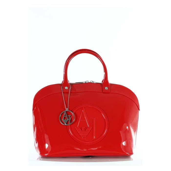 269f7fb1112 Sac à main Armani Jeans Bugatti vernis rouge 05… - Achat   Vente Sac ...