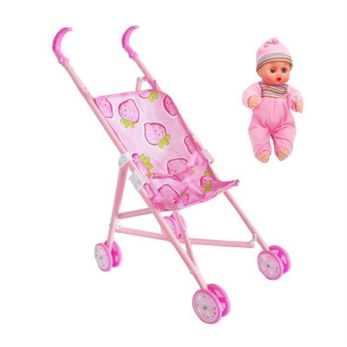best authentic designer fashion top fashion New Rose landau poussette chariot Nursery Jouets Meubles ...