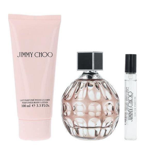 Set Parfum Pcs Femme Jimmy Edp3 Choo De rxCdeoB