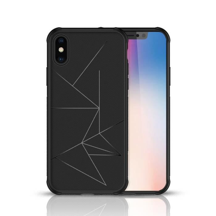 coque iphone xs max chargeur induction