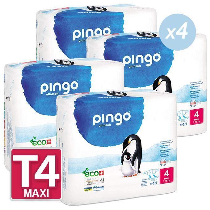 Couches Pingo T4 718kg Lot De 160 2 Cartons De 80 Achat