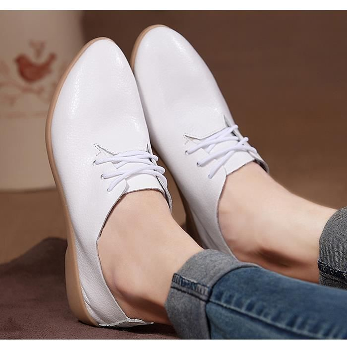 Casual chaussures femme a des chaussures docume...