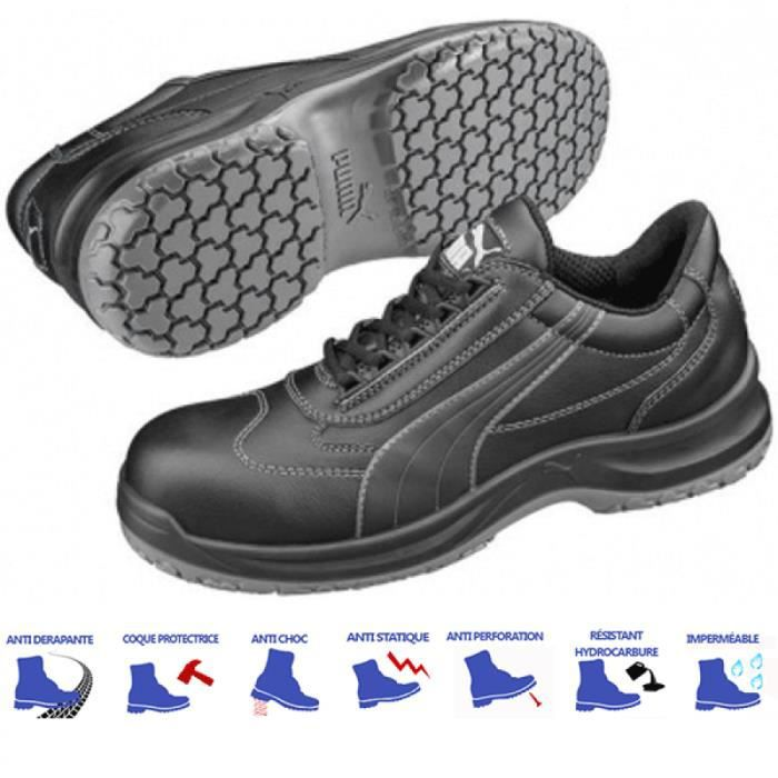 0b3ec0508faf4 Chaussures de sécurité Puma basses S3 Noir - Achat   Vente ...