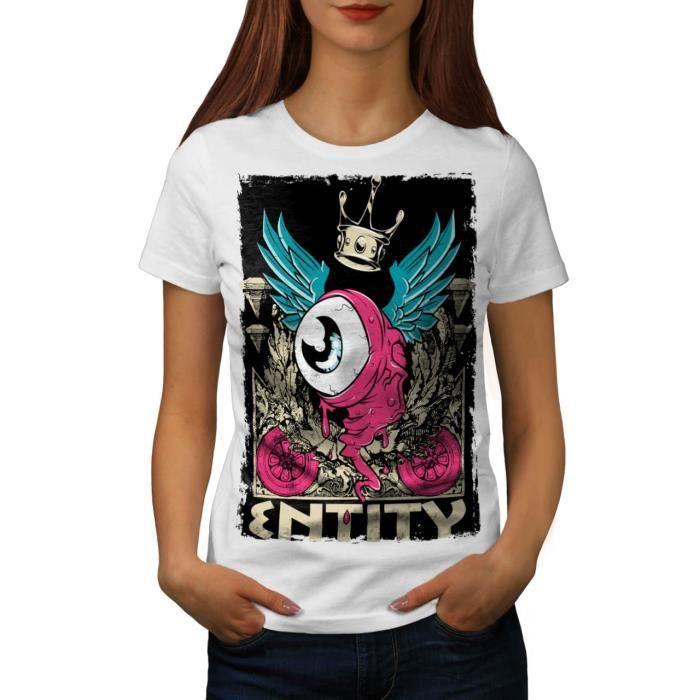 Entité Monstre Mode Entité OVNI Women S,2XL T,shirt