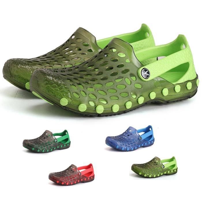 Les Sandales d'été pour les hommes Outdoor Soft Light Casual Chaussures antidérapants