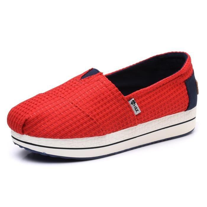 Toile Slip-on Tonique chaussures de marche espadrille JB70D Taille-38 1-2 FFTkjZ