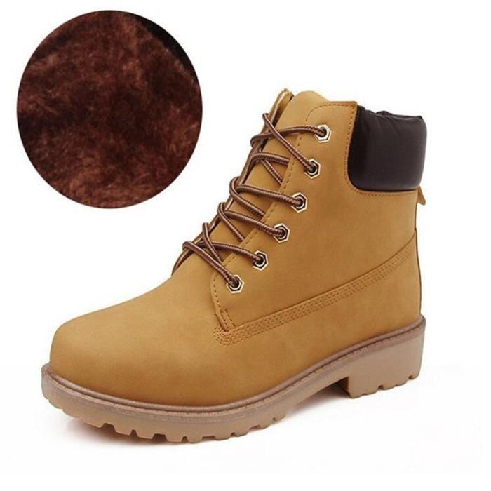 Marque Noir Hommes Bottine Luxe Taille De Chaussures Marron Coton b76gYyfIv