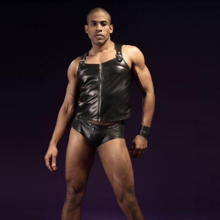 Gay homme noir ayant sexe