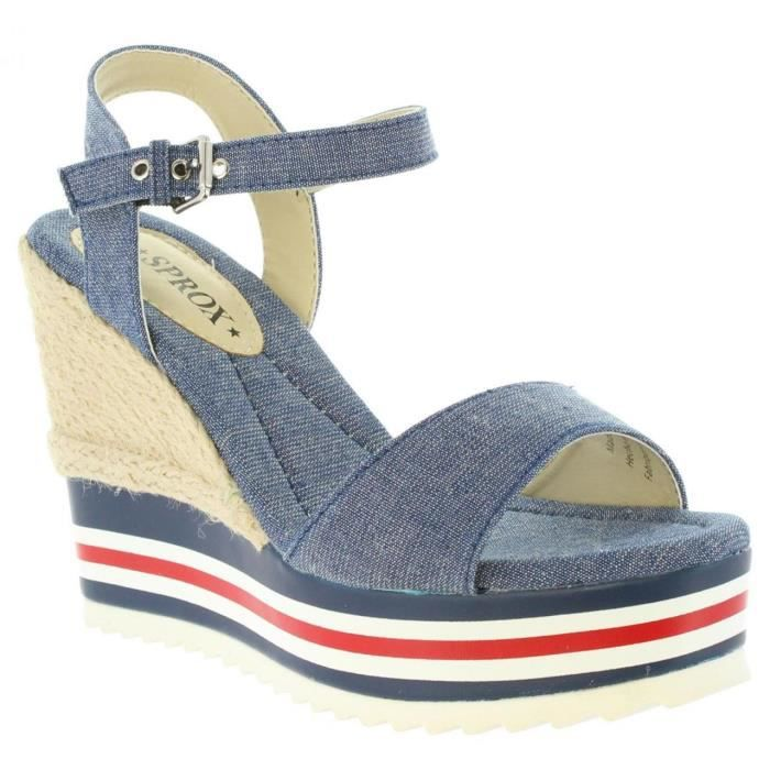 pour Femme Sprox 389963-B6600 NAVY QHGqO