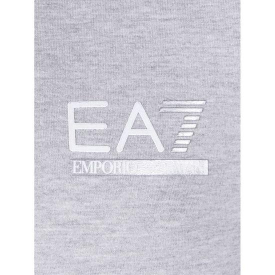 Sweat Zippe EA7 Emporio Armani Homme Gris Gris - Achat   Vente sweatshirt -  Cdiscount a47166e42751