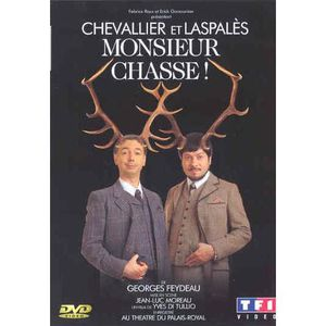 DVD SPECTACLE DVD Monsieur chasse