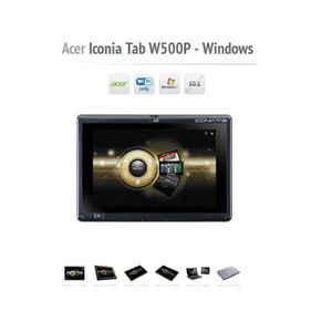 TABLETTE TACTILE TABLETTE ACER 10.1 - ICONIA TAB 32GB - WIFI/HDMI/U