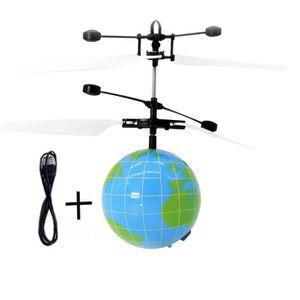 DRONE Induction RC vol balle Drone Hélicoptère à billes