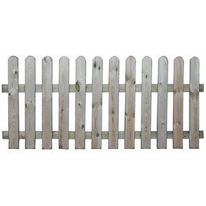 Barriere en bois pour jardin - Achat / Vente pas cher
