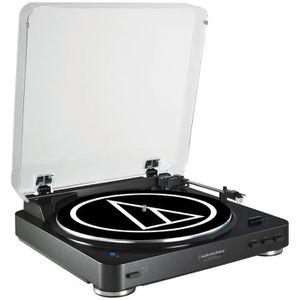 PLATINE VINYLE Audio Technica AT-LP60BT Noire