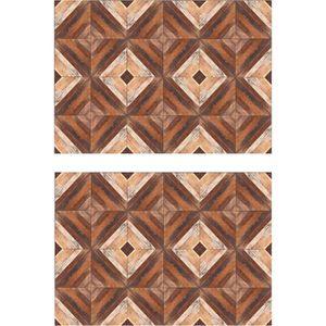 SET DE TABLE Lot de 2 sets de table Marketry - 100% Vinyle - 35