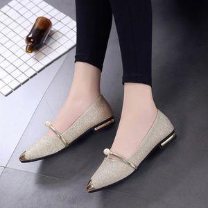 DERBY Chaussures à bout rond pour femme Chaussures à tal