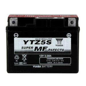 BATTERIE VÉHICULE YUASA-812058 - Batterie TTZ5S AGM