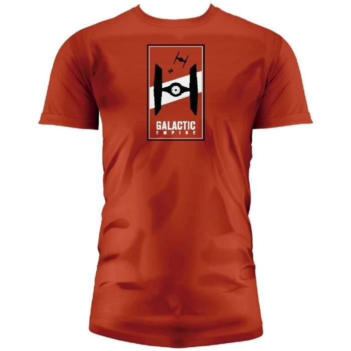 T-shirt Star Wars Ep.7 Galactic Empire - Homme Rouge