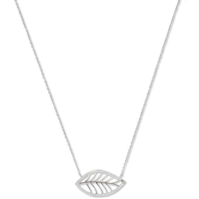 SF Bijoux - Collier argent 925/1000e OZ feuille (40+2+2 cm - 2,70 g) - (301517-42)