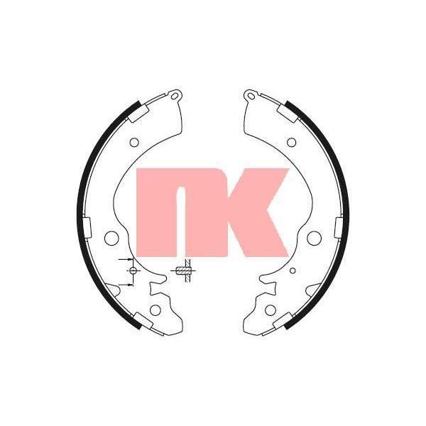 Jeu de mà¢choires de frein - NK 2726508