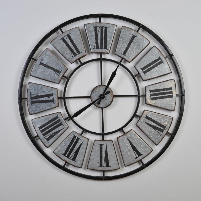 c261a167656169 Horloge gris - Achat   Vente Horloge gris pas cher - Cdiscount