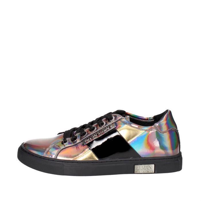 Armani Jeans Sneakers Femme Gris foncé, 40 Gris Gris foncé - Achat ... d0007605b702