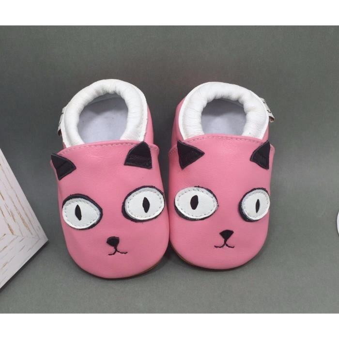 cute dog étoiles chaussures de bébé doux bambin Chaussons Bébé en Cuir Doux