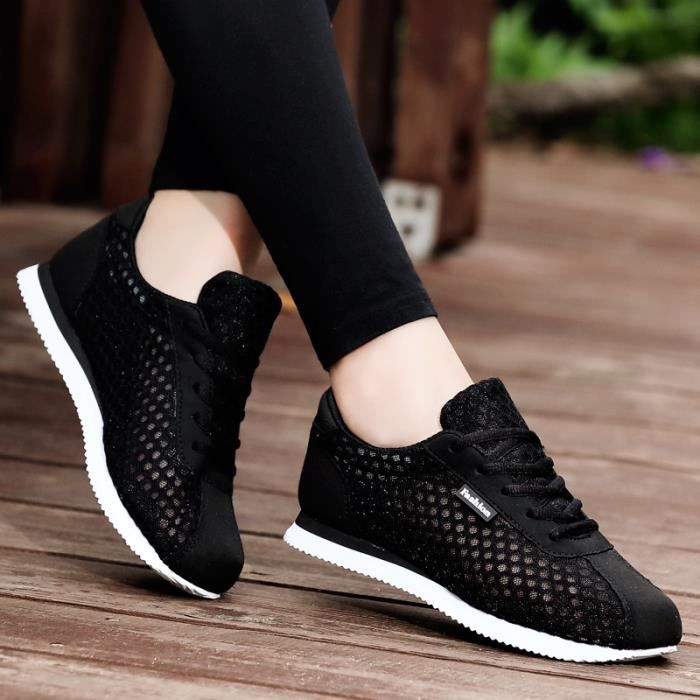 Chaussures Femme Basket Sneakers Women Runing Shoes