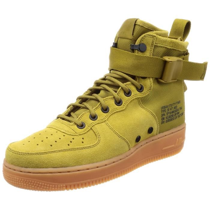 Los Angeles 50c5a 830fa Nike Hommes Sf Air Force 1 Mid Chaussures de gymnastique 3KXBOS Taille-39
