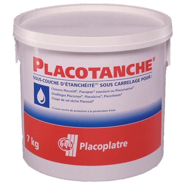 placo - sous-couche plaque de plâtre de protection étanche à l'eau