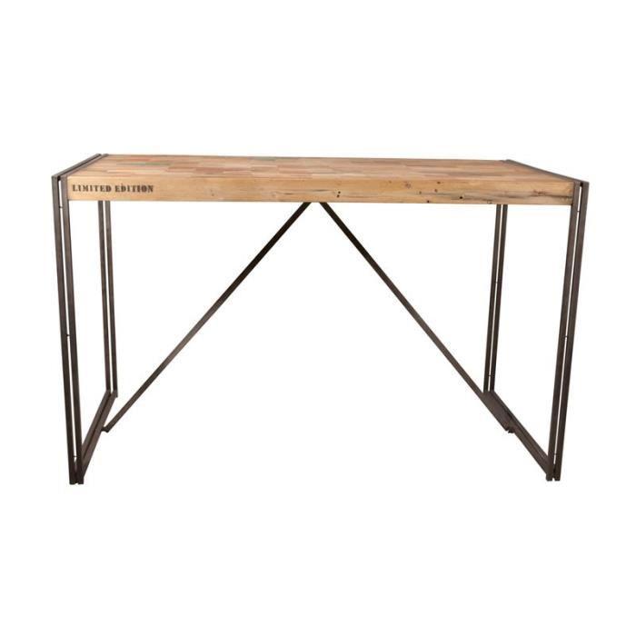 Table mange debout 150*80 cm - INDUSTRY - L 150 x l 80 x H 110 cm ...