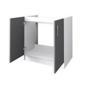 Meuble sous evier avec evier 1 bac achat vente meuble - Meuble sous evier 40 cm ...