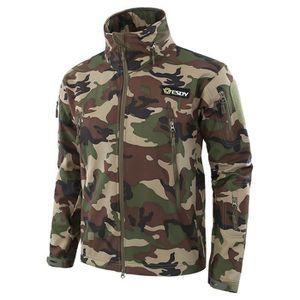 ... SALOPETTE Outdoor Camouflage Manteau Hommes Veste à capuche ... a1d3394b001