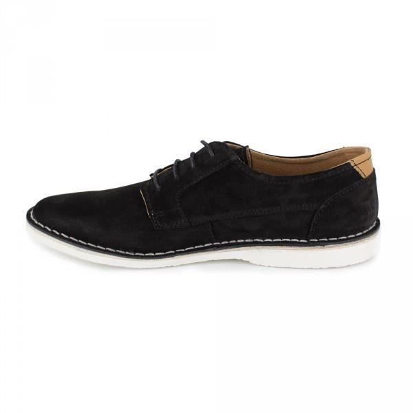 J.BRADFORD Derby Cuir Noir JB-CETRO - Couleur - Noir, Taille Chaussures - 44