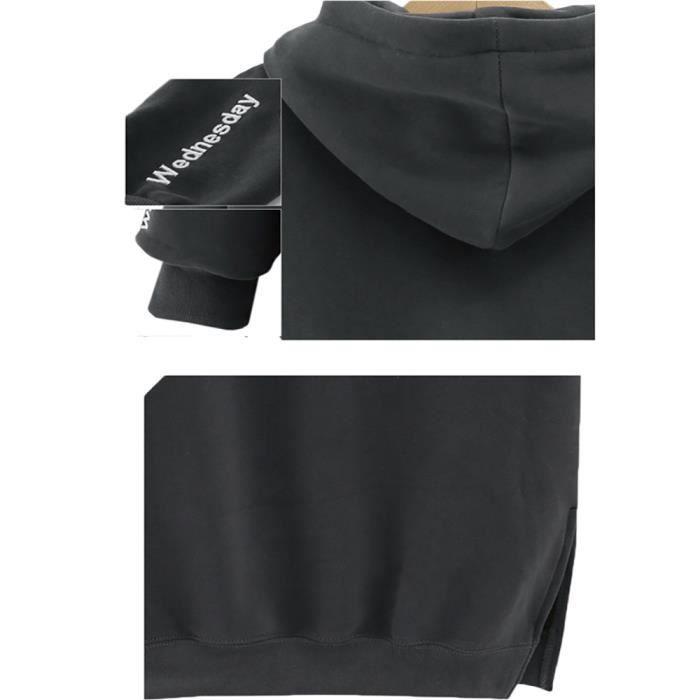 Robe Femme Encapuchonné Loisir Sweat Sweatshirt