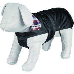 TRIXIE Manteau Paris M: 50 cm noir pour chien