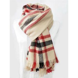 ECHARPE - FOULARD nouvelle écharpe rouge-noir personnalisé foulard d 730a9590227